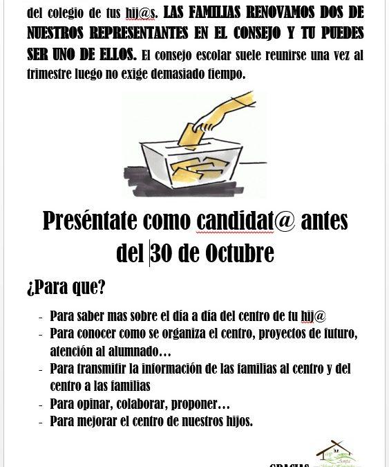 Presentate como candidat@