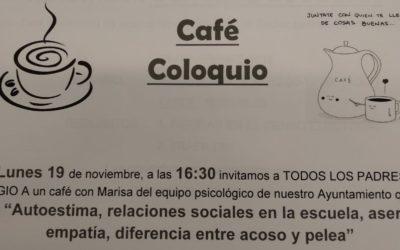 Cafe-coloquio para padres y madres