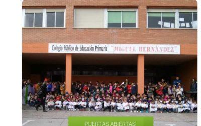 JORNADA DE PUERTAS ABIERTAS EN NUESTRO COLE