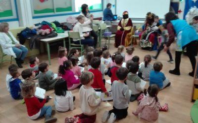 Los Reyes Magos con educacion Infantil