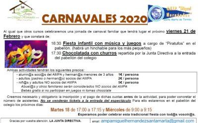 SE ACERCA EL CARNAVAL!!!